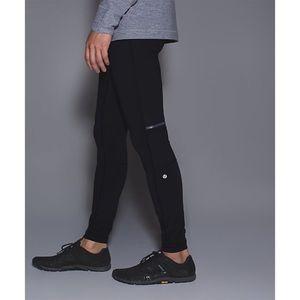 Lululemon Surge Tight Black Running Gym Leggings